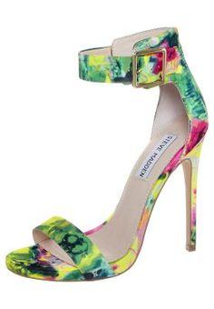 MARLENEE - High Heel Sandalette - floral