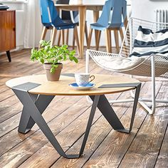 Mobiush Coffee Table - Oak - by Tabanda #MONOQI