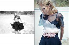 Designs: Maria Berman Photographer: Michael Fisch Model: Irina Roshik |Kelley Brooks Pinner