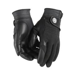 Thermal fleece keeps hands warm. Soft and durable cabretta leather palm provides excellent grip in all weather conditions.