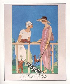 George Barbier 11 | Flickr - Photo Sharing! Illustration from Falbalas et Fanfreluches, 1924