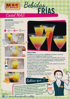 #Receta de #Cóctel aperitivo...