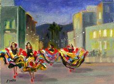 Folklorico Dancers at Pasadena Civic Auditorium