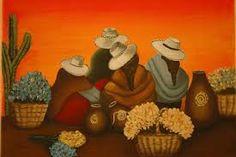 Resultado de imagen para PINTURAS COYAS Peruvian Art, Mexico Art, African Art, Bowser, Folk Art, Lily, Baby Shower, Art Prints, Bolivia