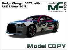 Dodge Charger SRT8 with LCE Livery '2012 - 3D Model - Model COPY
