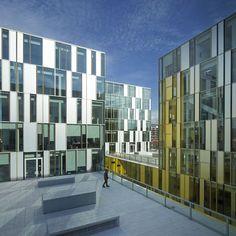 Manuelle Gautrand Architecture LA CITE DES AFFAIRES SAINT ETIENNE