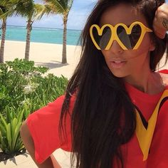 Reminds me of McD's! Heart sunnies! <3