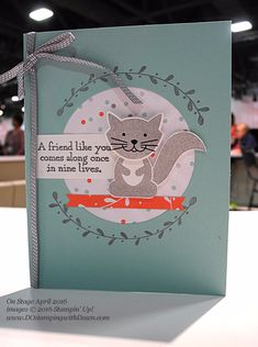 Foxy Friends Bundle Stampin' Up!
