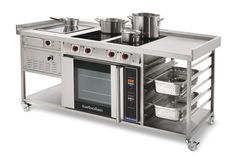 Custom Built Induction Range Cookers And Suites