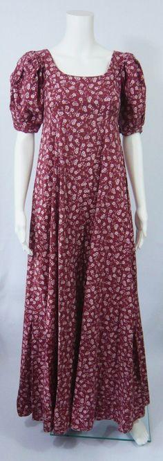 Laura Ashley vintage Regency style Dress - Lost in Jane Austen??? | eBay