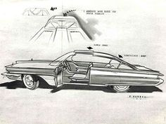 "Ref#	655 Date:	1957 Artist:	George Barbaz, signed ""Barbaz, 57"" Make:	Edsel Type:	Photograph Comments:	Shows conceptual rendering"