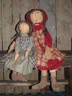 Me n Sis prairie doll sisters PDF pattern 285