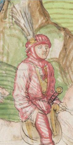 Diebold Schilling, Amtliche Berner Chronik, Bd. 3 Bern · 1478-1483 Mss.h.h.I.3  Folio 833