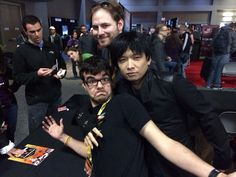 Ray, Ryan, and Monty at the RT booth at SXSW. Monty will be greatly missed, he was such a talented, inspiring man