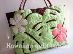 いいね!24件、コメント2件 ― Hawaiian quilt Lauleaさん(@hawaiianquilt_laulea)のInstagramアカウント: 「大きなサイズはマザーズバッグにも 荷物がたっぷり入ります♡♡…」