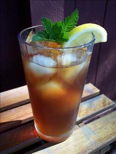 Southern sweet tea... Just like ma  ma use to make