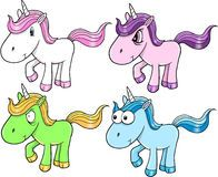 Cute Unicorn Set Royalty Free Stock Photos