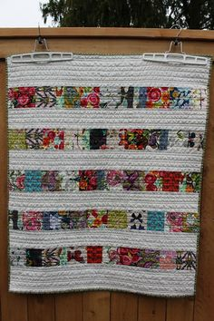 Quilting is more fun than Housework...: When Friends give you Scraps...