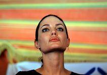 Angelina Jolie (fot. Mohammad Abu Ghosh/PAP/Photoshot)