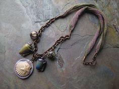 Beach Memories Necklace As Seen in Bead Trends  Kristys Kreations Jewelry, Luulla