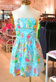 I love lilly-pulitzer. This would look great with a tan on a breezy Sunday! :)