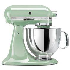 KitchenAid Artisan 5-Quart Stand Mixers  byKitchenAid  Color: Pistachio  Price:$299.95 I think I cried a little.