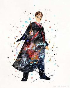 Harry Potter, Harry Potter Type 2 Print - My Website 2020 Harry Potter Poster, Images Harry Potter, Arte Do Harry Potter, Harry Potter Cast, Harry Potter Tumblr, Harry Potter Quotes, Harry Potter Characters, Watercolor Disney, Watercolor Print
