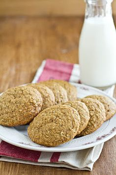 Pumpkin and Hemp Seed Cookies(could be dairy free if you substitute coconut oil)