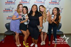 One of the most amazing days ever was when I got to personally give Alisha Marie, Niki DeMartino, Gabriella DeMartino and Mia Stammer there custom phone cases at there meet and greet. They are amazing YouTube and my  role models and will forever remember this day.