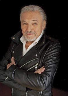 Karel Gott, Leather Jacket, Singer, Actors, Celebrities, Jackets, Czech Republic, Entertainment, Music
