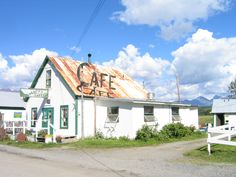 Hope, Alaska. I've eaten here. The drive from Girdwood to Hope is just beautiful!