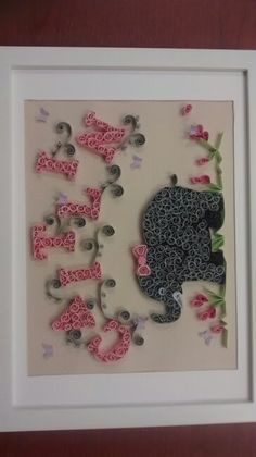Elephant names quilling