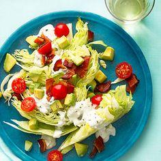Rosemary Bacon, Lettuce, and Tomato Salad Recipe
