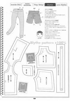 Blythe shorts & tank