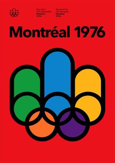 A modified version of the 1976 Summer Olympics Montréal logo used at times Parc Olympique.
