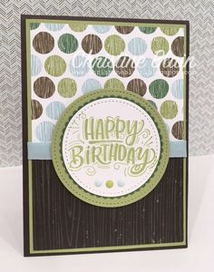 HAPPY HEART CARDS: STAMPIN' UP! CELEBRATE YOU, AND COFFEE BREAK DSP