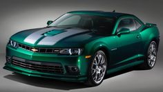 Chevrolet Name the 2015 Spring Special Edition Camaro.  Not a fan of the color but still great.