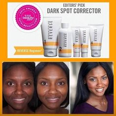 Are you using an Award Winning Skincare?? Is it featured by Beauty Editors in the beauty magazines every month?? Rodan + Fields REVERSE regimen power pack erases years of sun damage, brown spots/freckles, and Malasma. It brightens, exfoliates, reduces the appearance of fine lines and wrinkles and defends against sun exposure! And delivers a RADIANT Complexion!!