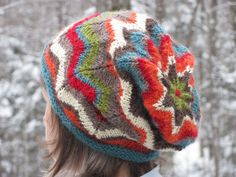 Pattern for knit hat