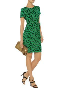 D is for Diane von Furstenberg - Zoe wrap-effect stretch-jersey dress #THEOUTNETabc #SeeItShopIt