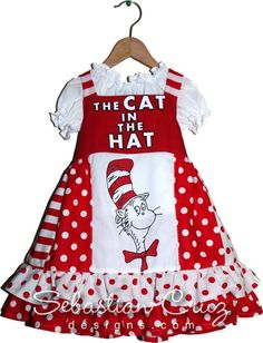 This would have been so cute for Mia to wear to Hailey's performance In Suessical the Musical.