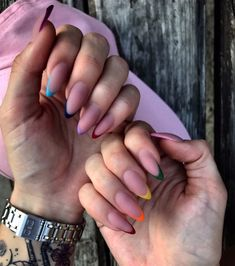 nails _ ideas for manicure _ manicure Nail Swag, Stylish Nails, Trendy Nails, Fire Nails, Best Acrylic Nails, Get Nails, Nagel Gel, Perfect Nails, Nail Trends