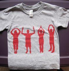 OHIO Childrens TShirt Gray Sizes 3T Small and by thebuckeyelady, $8.00
