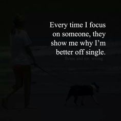 That's why I habe focused only on my self for a longtime now. Jeff
