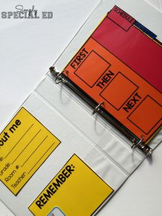 This binder has EVERYTHING your students needs to get ORGANIZED. I love that they can carry it everywhere with them and has their token board and schedule!