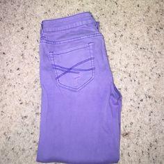 239e7033034 Aeropostale jeans. Purple Bayla skinny Aeropostale jeans size (00  regular normal) Aeropostale