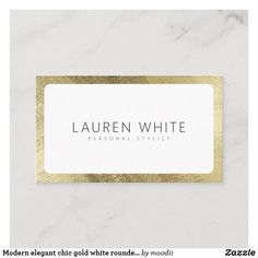 Cleaning Business Cards, Minimalist Business Cards, Lauren White, Elegant Chic, Professional Business Cards, Love Messages, Personal Stylist, Stylists, Abstract