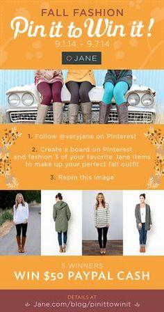 Jane.com Fall Fashion contest