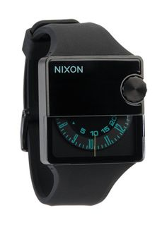 Nixon knows how to make modern classics.  Old radio dials on a watch face?  Brilliant!