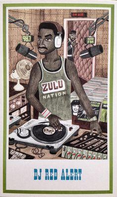 Cool DJ RED ALERT
